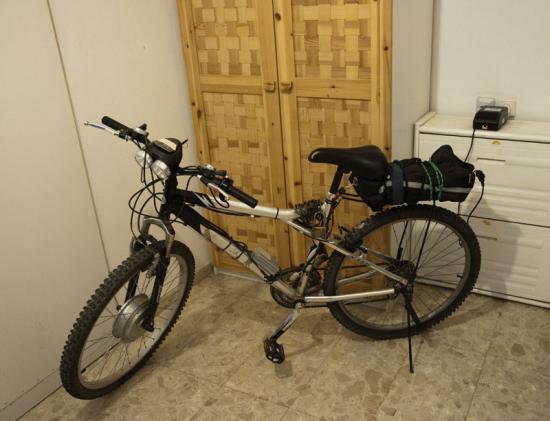 Велосипед с электроприводом с мотор - колесом