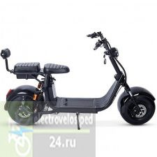 Электросамокат с сиденьем Fat-Scooter City Coco x7 Double Battery 1500w